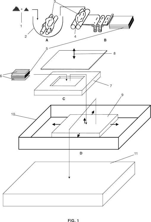 Procedimiento de fabricación de espumas de poliolefinas reticuladas de celda abierta y espumas obtenidas.