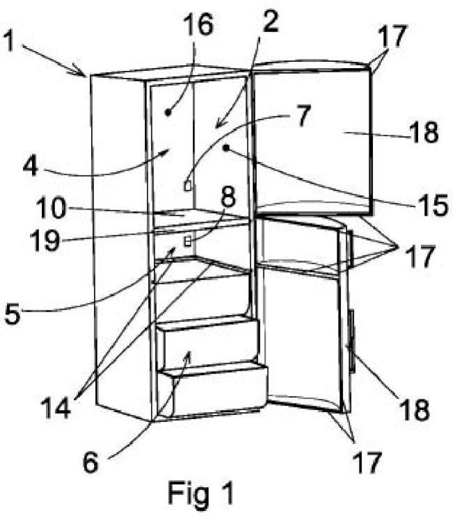 Refrigerador modulable para almacenaje y conservación de alimentos.