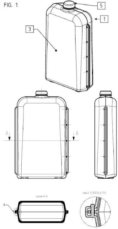 Sistema de envases modulares.