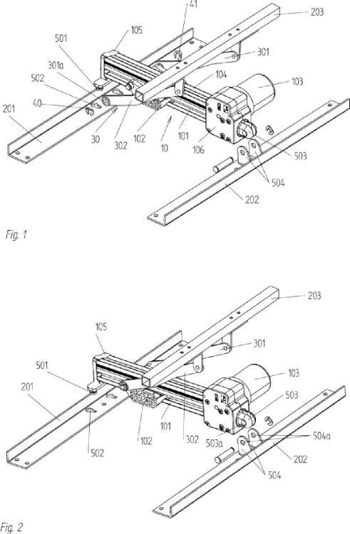 Sistema de accionamiento con un accionador lineal y pieza de mueble con tal sistema de accionamiento.