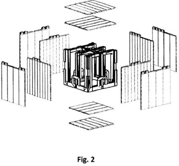 Recinto blindado portátil para aplicaciones que usen radiación ionizante.