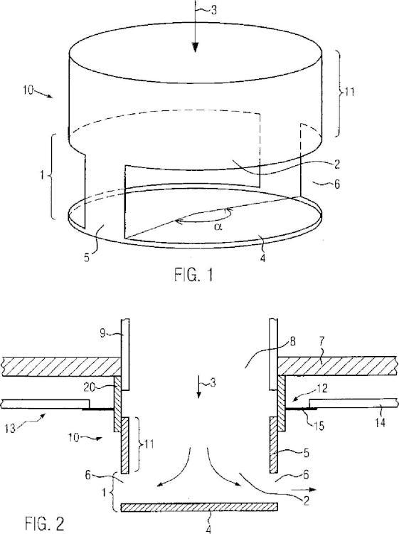 Tubuladura con dispositivo de desviación para un aspirador de polvo.