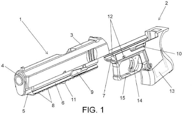 Arma de fuego modular.