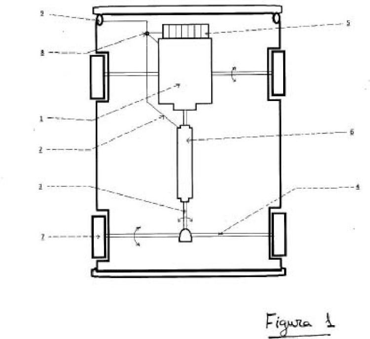 Sistema de auto-recarga para vehículos eléctricos.