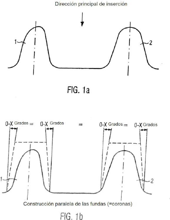 Procedimiento y dispositivo para la producción de una prótesis dental.