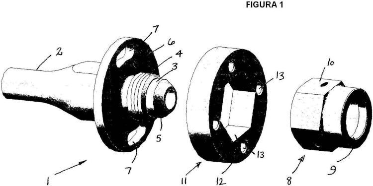 Conjunto de seguridad para conectores roscados de extremo de manguera.