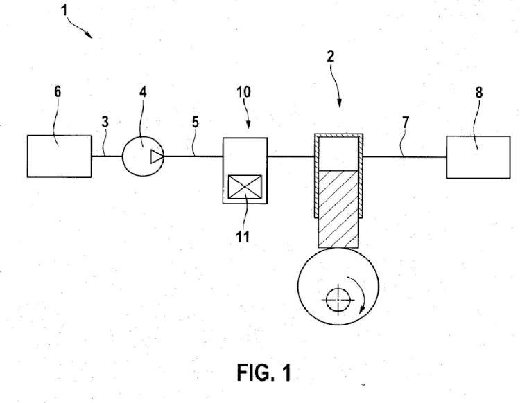 Válvula de control, en especial para dosificar un fluido para una bomba de alimentación dispuesta aguas abajo.