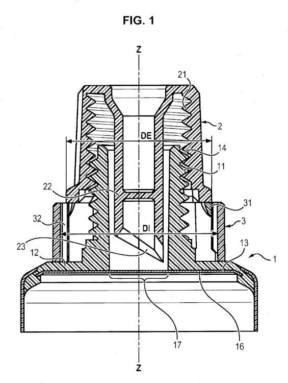 Cabeza de tubo provisto de un opérculo asociado a un tapón perforador mejorado que garantiza la preservación del opérculo antes de su primera utilización.