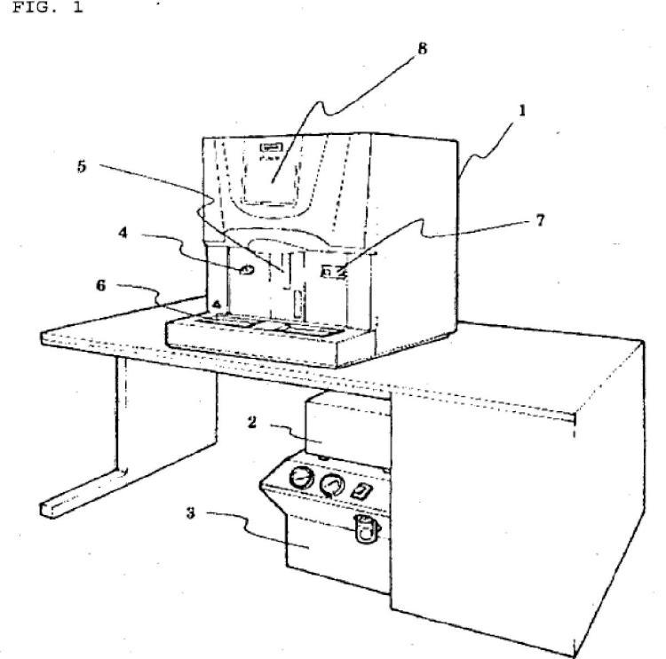 Material de referencia para un analizador de partículas.