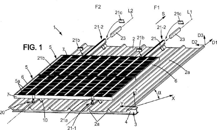 Instalación para la absorción de energía solar.