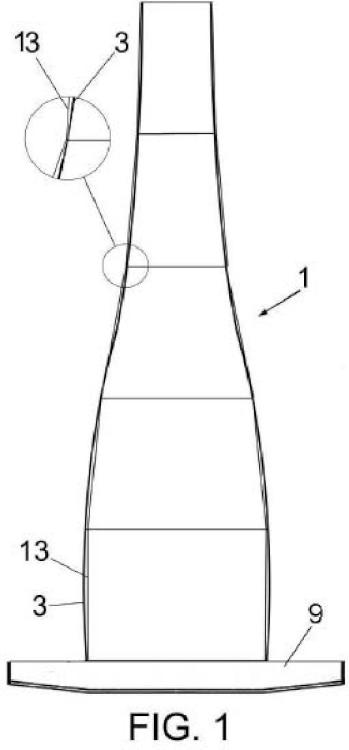 Sistema constructivo para torres eólicas.
