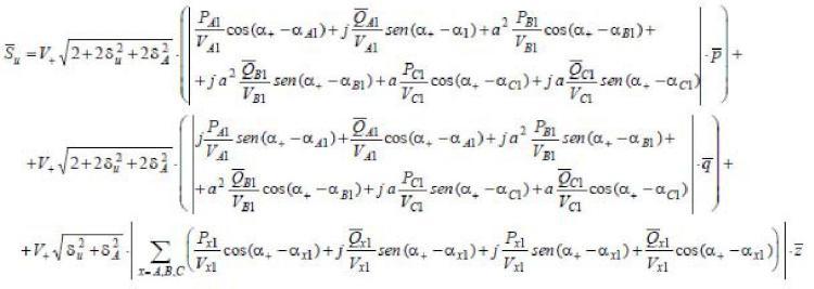 Método y sistema de medida de desequilibrios en una red eléctrica.