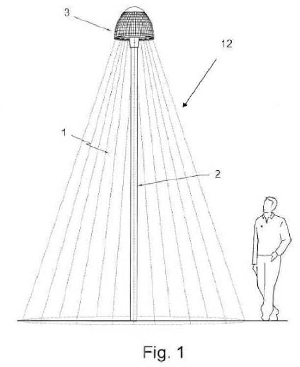 Módulo fotovoltaico.