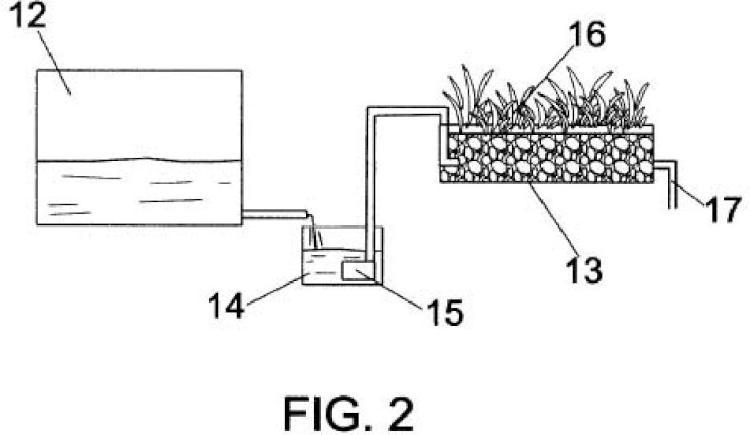 Sistema modular de filtrado biológico para la depuración de aguas residuales.