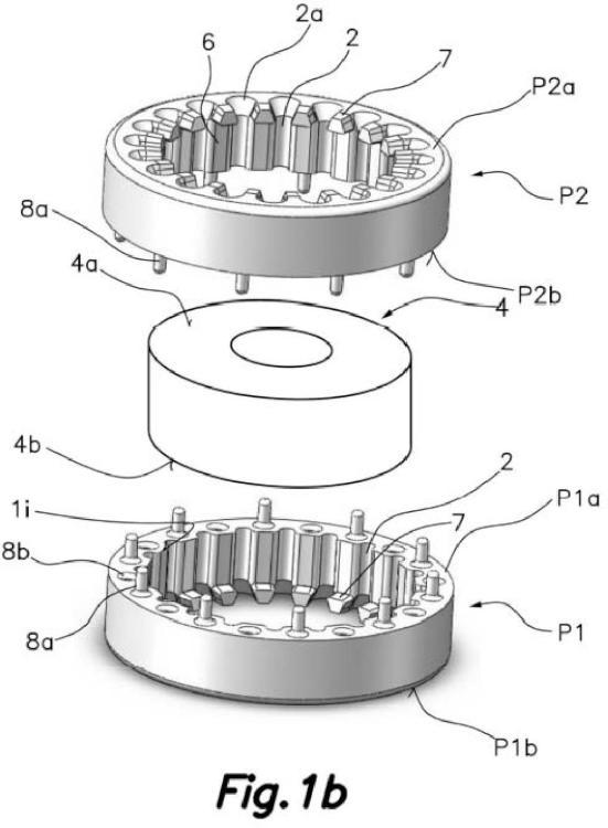 Dispositivo para la formación de una bobina toroidal y método para la formación de una bobina toroidal.