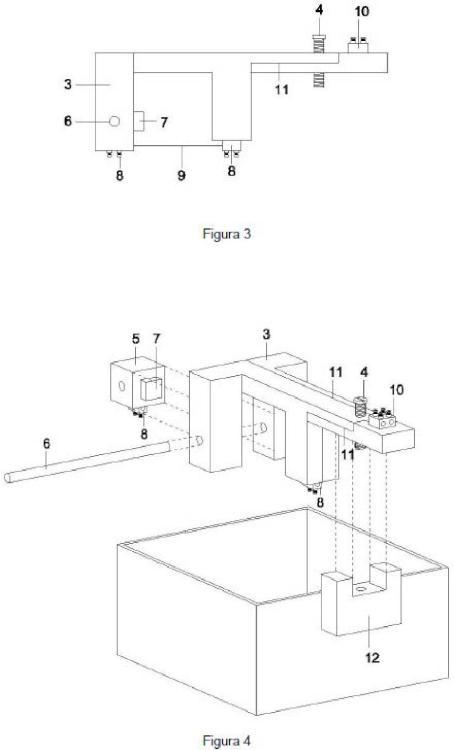 Dispositivo de recocido de materiales magnéticos amorfos con pulsos de corriente eléctrica.