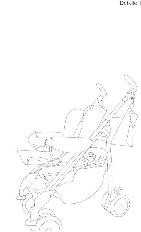 Silla supletoria para cochecitos y sillas de bebés.