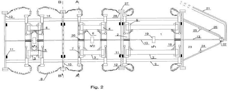 Depósito submarino criogénico flexible.