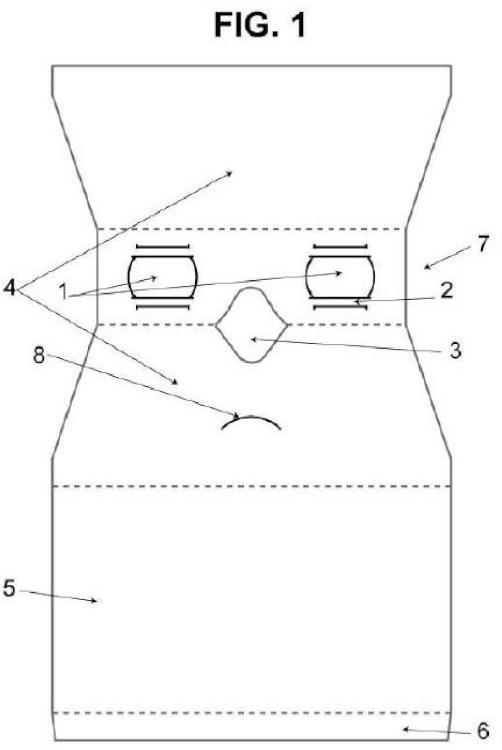 Dispositivo plegable para la visualización de escenarios virtuales en teléfonos móviles.