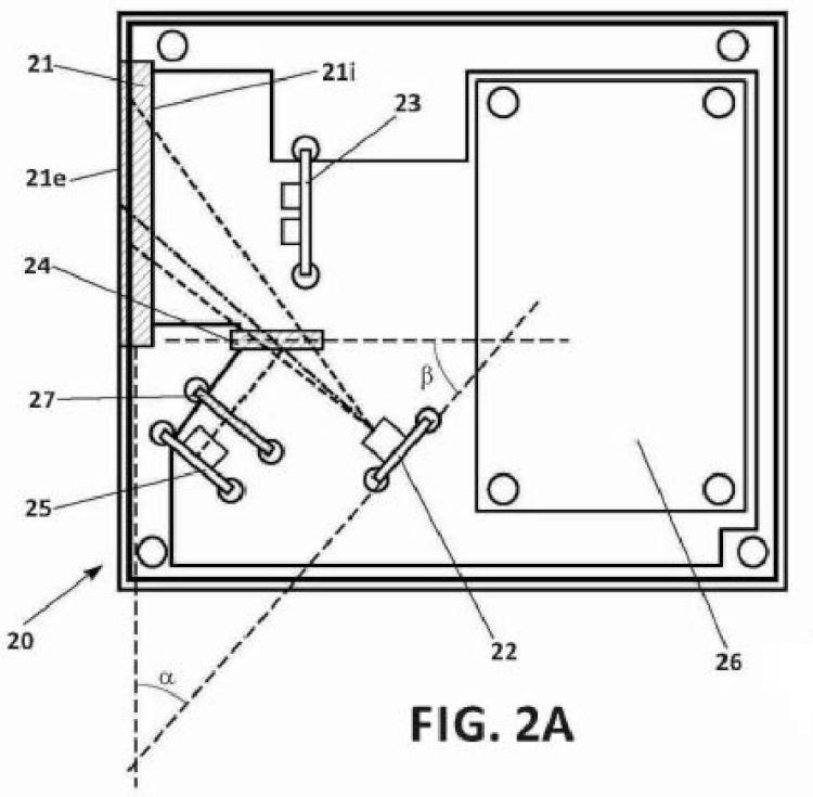 Sensor de suciedad y procedimiento para detectar la cantidad de suciedad de una superficie.