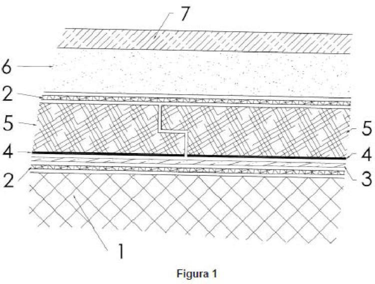 Poliestireno extrusionado con protección de hoja de aluminio para la cubierta plana invertida.