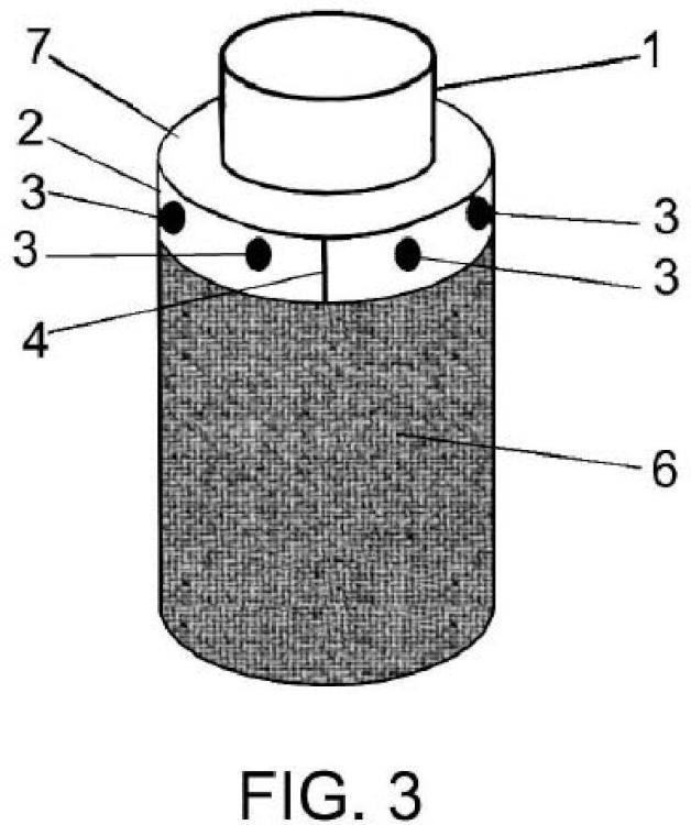 Método para reforzar elementos estructurales con tejido.