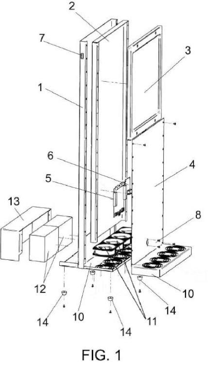 Ventilador solar para optimización energética de radiadores.