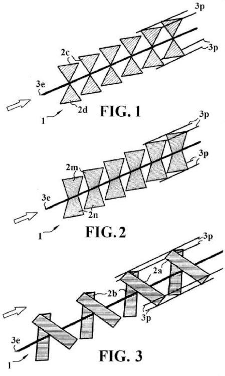 Sistema captador de energía eolica.