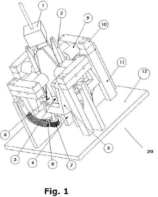 Dispositivo de plegado del papel sobrante de moldes de papel, en conformadoras de moldes de papel para horneo de productos alimentarios.