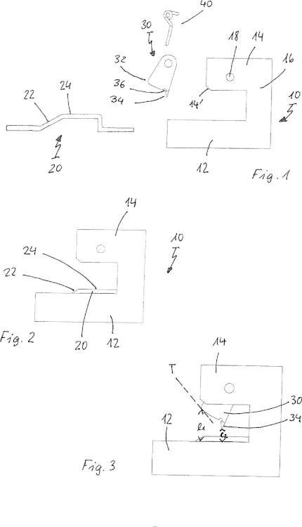 Disposición de contactado de barra colectora con compensación del espesor de la barra.