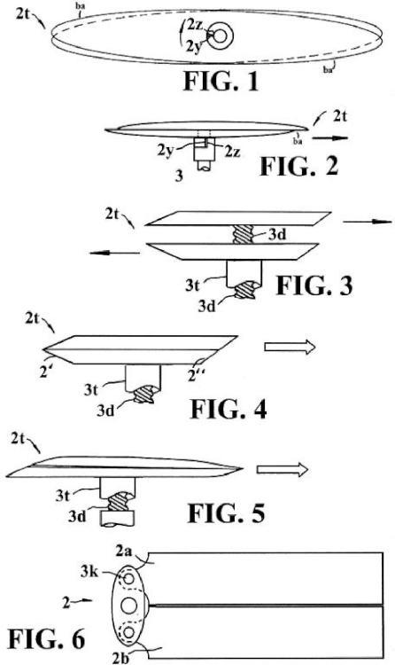 Sistema sustentador, propulsor y estabiliador para aeronaves de despegue y aterrizaje vertical.