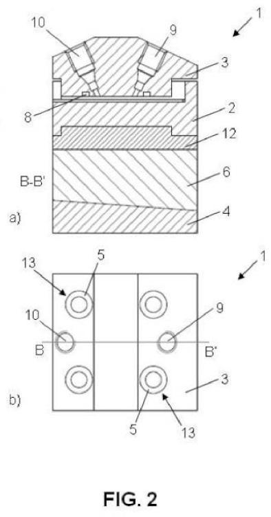 Celda electroquímica de flujo para electrodos.