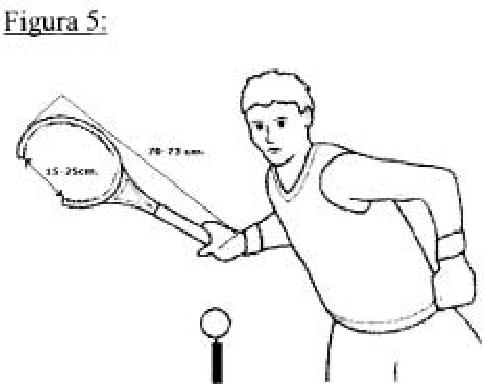 Dispositivo de entrenamiento para los golpeos en el deporte de tenis.