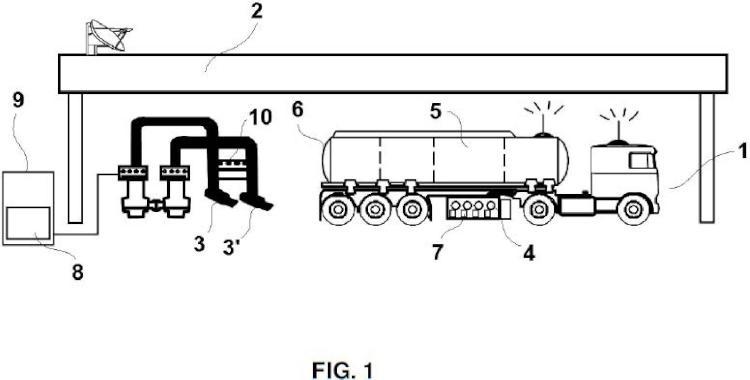 Sistema para la identificación de compartimentos y control de purgas en camiones cisterna.