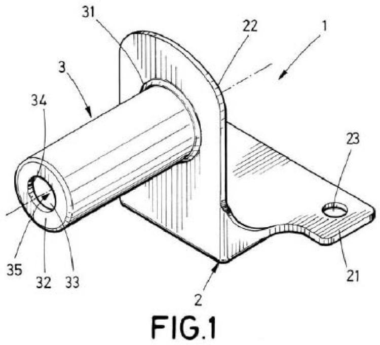 Soporte inferior de un amortiguador de oscilaciones de una máquina de lavado, máquina de lavado y dispositivo de acoplamiento que comprenden el soporte.
