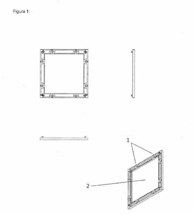Sistema de construcción modular con imanes libres.