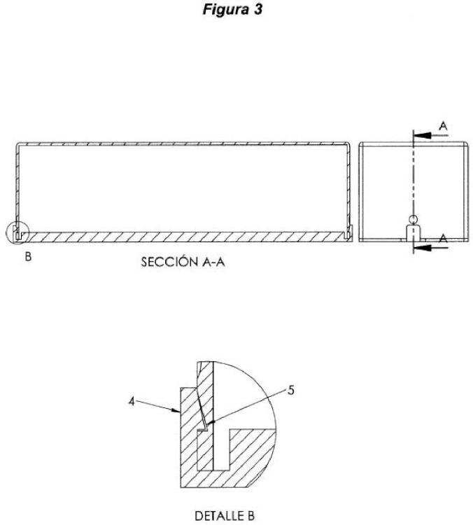 Ilustración 3 de la Galería de ilustraciones de Recipiente contenedor para barra de helado al corte