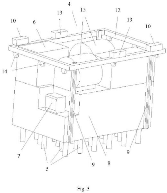 Máquina secadora de granos móvil y procedimiento de secado del grano.
