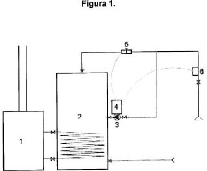 Regulador de la recirculación en un circuito de agua caliente sanitaria u otros fluidos.