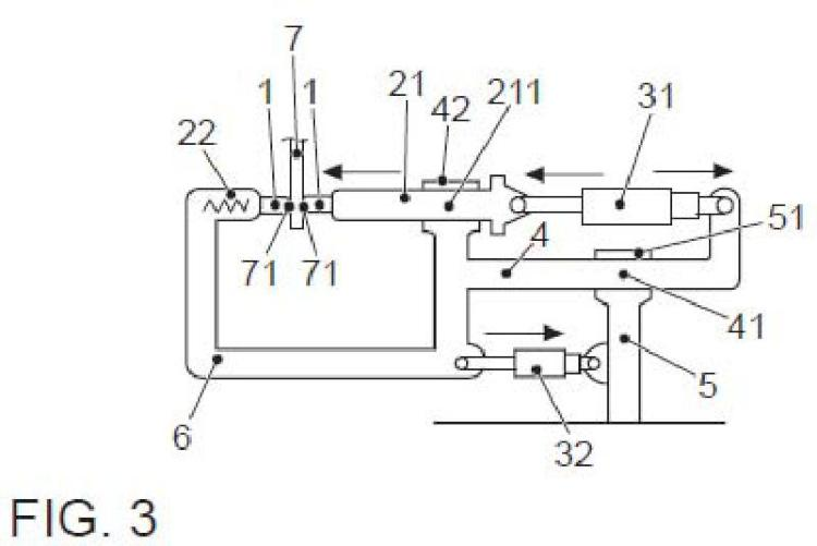 Procedimiento y dispositivo de compensación automática para pinza de soldadura.