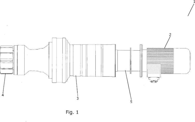 Ilustración 1 de la Galería de ilustraciones de Mecanismo de guiñada para un sistema de guiñada para una turbina eólica