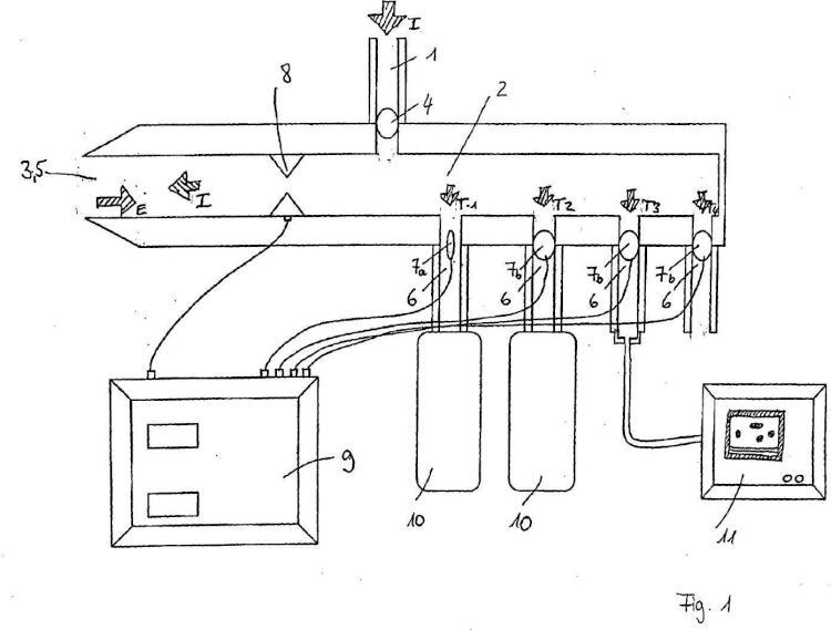 Dispositivo para el fraccionamiento del volumen espiratorio.