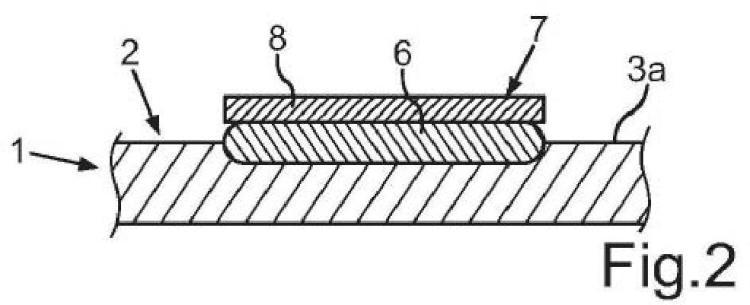 Método para producir un componente de aparato doméstico y componente de aparato doméstico.