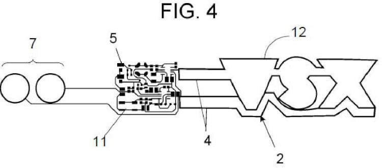 Elemento laminar compacto electroluminiscente.