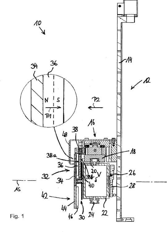 Dispositivo de pipetado con motor lineal.