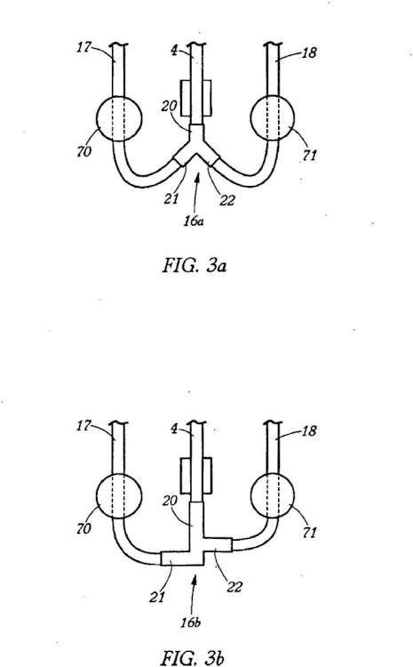Conjunto de bolsas para la separación de un líquido compuesto en una centrífuga.