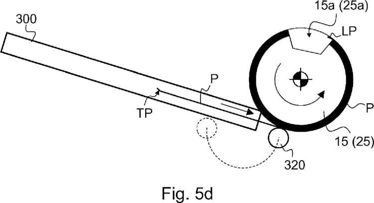 Procedimiento de montaje y registro de un clisé en un cilindro del clisé de una impresora offset multicolor.