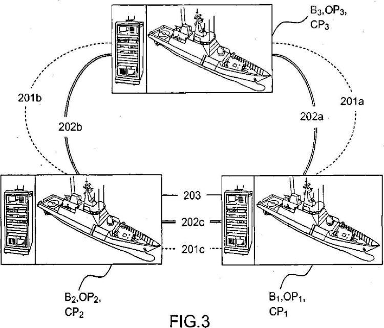 Procedimiento y sistema para la selección automática de medios de transmisión.