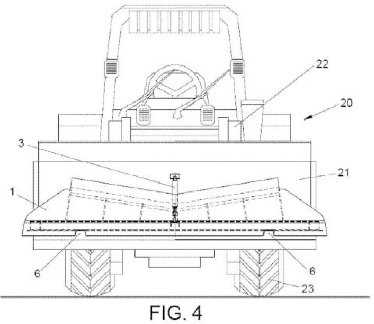 Dispositivo de perfilado para vías de ferrocarril y máquina autopropulsada que comprende dicho dispositivo.