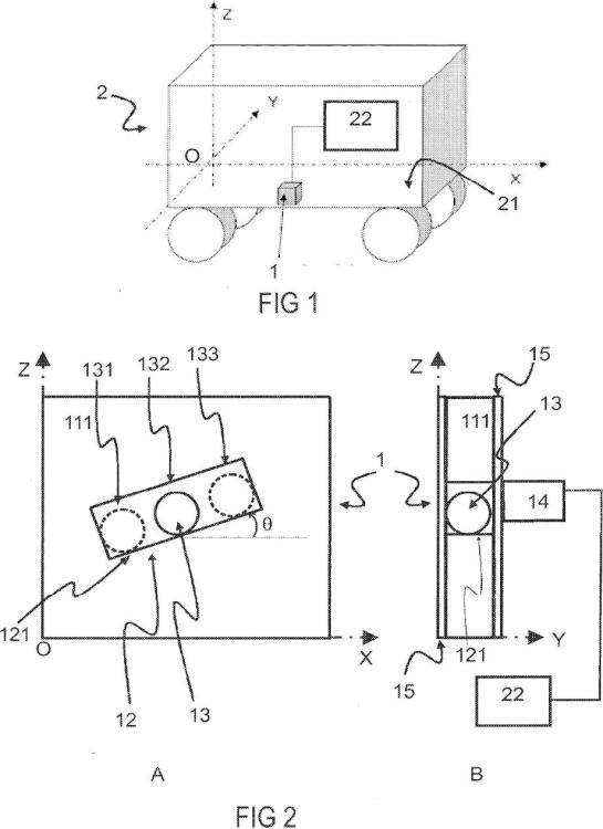 Sistema de medición de la variación de velocidad de un cuerpo móvil.
